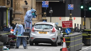 Midlands addresses searched in Westminster terror probe