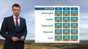 UK Weather Forecast: misty rain in the South West tonight