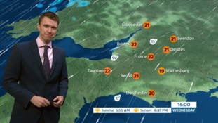 UK Weather Forecast: getting drier as it goes on in the West