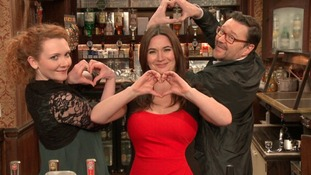 Some of the stars of Coronation Street show their support for From the Heart