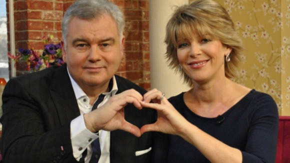 Eamonn Holmes and Ruth Langsford show their From the Heart support