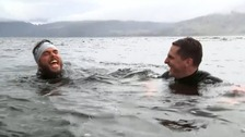 Meeting the swimmer who has spent 74 days at sea