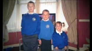 Samantha Hudson's children William, AJ and Maddie