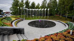 The Memorial Gardens in Omagh.