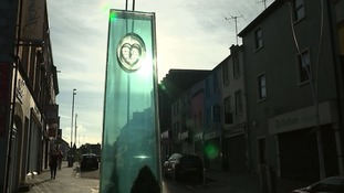 A memorial in Omagh.
