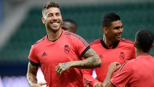 Real Madrid's Sergio Ramos takes aim at Jurgen Klopp over incident in last season's Champions League final