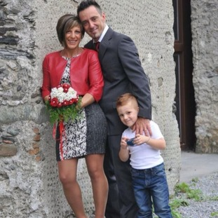 Ersilia Piccinino, Roberto Robbiano, and their eight-year-old son Samuele all died when the bridge collapsed.