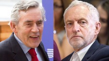 "Former prime minister Gordon Brown called the issue of anti-Semitism in the Labour party a ""running sore""."