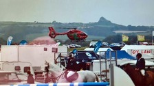 Boy, 12, among injured by horse at Pembrokeshire County Show