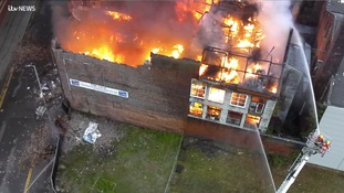 Report: Latest from mill fire near Strangeways Prison