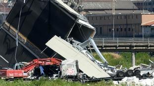 Oxfordshire couple escape death in Italy bridge collapse