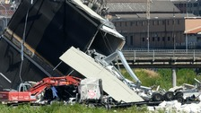 Oxfordshire couple escape death in Italy bridge collapse