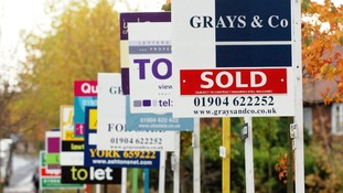 House prices steadily rose last year in the UK.