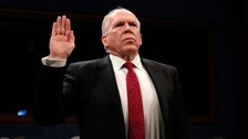 Trump follows through on threat against ex-CIA director