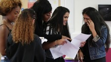 North West students get their A level results