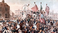 Manchester commemorates the Peterloo massacre