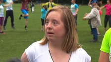 Welcome to one of the first Down's Syndrome running clubs