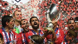 Atletico Madrid see off city rivals Real Madrid in extra time to win the Uefa Super Cup