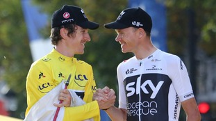 Tour de France winner Geraint Thomas and Chris Froome will race for Team Sky in the Tour of Britain next month