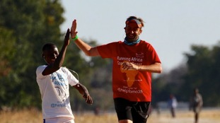 Meet the man running 92 marathons across Africa for charity