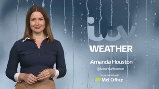 Latest weather forecast for east and west of region