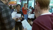 A-level results are revealed across the region