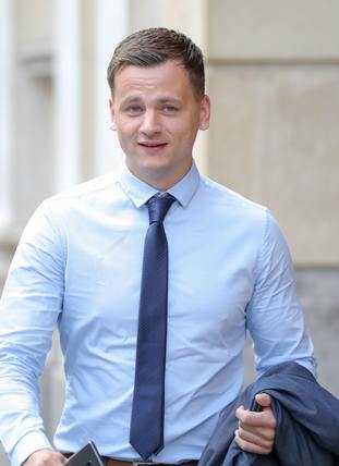 Ryan Hale has issued a statement through his lawyers questioning why he was not treated as an assault victim (Andrew Matthews/PA)
