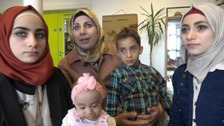 Rola Khanjo and her family sought refuge in Northern Ireland from the war in Syria