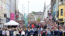 Memorial service for 20th anniversary of Omagh bombing
