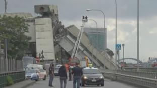 Oxfordshire family describe terror during Genoa bridge collapse