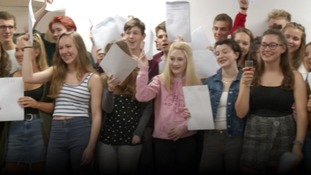 A Level celebrations across the West Country