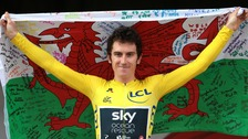 Geraint Thomas will cycle through Devon in the Tour of Britain