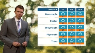 UK Weather Forecast: mostly dry overnight in the West