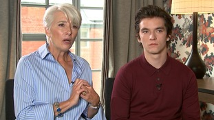 Dame Emma Thompson tells ITV News she 'couldn't live with' the decisions her character makes in The Children Act