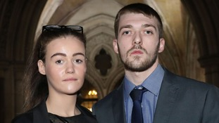 Tom Evans and Kate James, battled to keep their son Alfie alive but judges ruled he must be taken off life support.