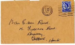 The reply was part of her regular correspondence with prolific letter writer Eileen Read