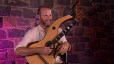 Guernsey man builds rare harp guitar
