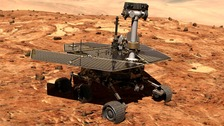 Nasa makes playlist to wake up Opportunity rover on Mars