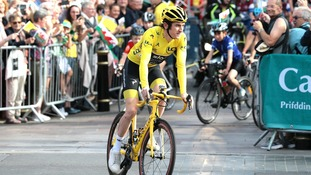 Wales National Velodrome to be renamed in honour of Geraint Thomas' Tour de France victory