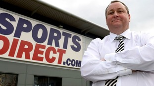 Mike Ashley's Sports Direct bid for House of Fraser hours after it fell into administration.