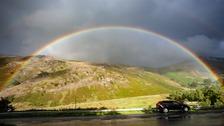 Cumbrian rainbow  DAVID BILLINGE, Morecambe