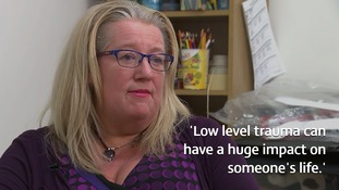 Norma Patterson, who's been a counsellor for 20 years, knows only too well the effect trauma can have on mental health.