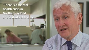 David Babington wants Westminster to step in and help with Northern Ireland's mental health crisis.