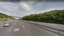 Couple arrested after 'driving wrong way down M4'