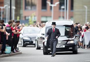 Barry Chuckle funeral