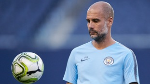 Man City manager Pep Guardiola has suggested his side would be reluctant to swap venues for their fixtures against Spurs