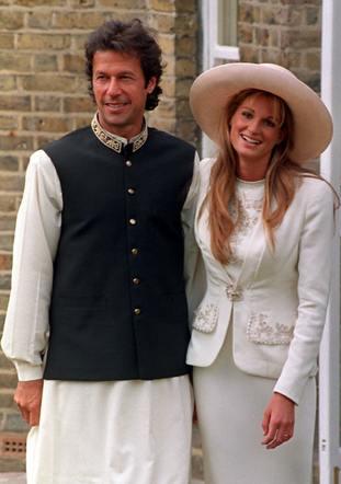 Imran Khan married Jemima Goldsmith