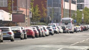 Commuters face lengthy delays due to new bus lanes.