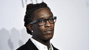 Rapper Young Thug arrested on weapons charge at LA album event