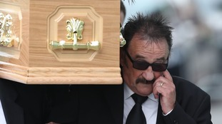 Paul Chuckle carried his brother to the funeral.